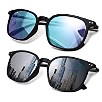 2 件裝男士色覺障礙眼鏡/*矯正眼鏡,適用于紅*和藍*目(彩*眼鏡)...