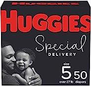 低*性婴儿纸尿裤尺寸 5,50 克拉,Huggies *配送