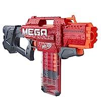 NERF Mega Motostryke 电动 10 发软头弹 -- 包括 10 个官方的 Mega 飞镖和 10 个软头弹夹 -- 适合儿童、青少年和成人
