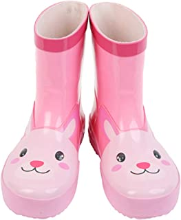 Candy-Baby 儿童男孩女孩橡胶雨靴/儿童橡胶雨靴