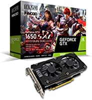 ELSA GeForce GTX 1650 SAC DUAL 显卡 GD1650-4GERSDD6 VD7499