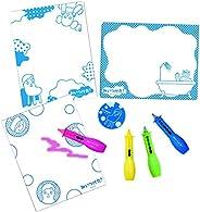 变身! 浴室绘画蜡笔