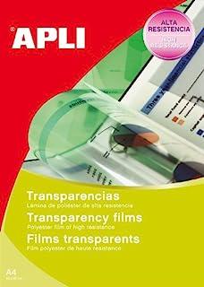 APLI 1216 20x 清晰 LCD 屏幕保护膜适用于喷墨打印机
