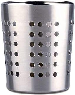 Life Style 排水容器适用于餐具,不锈钢,银色 银白色 Conico