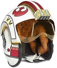 Star Wars 黑色系列天行者卢克战斗仿真头盔高级电子角色扮演收藏全尺寸灯光和声音