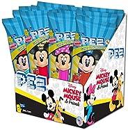 PEZ Disney 米奇 0.6 盎司(约 16.4 克)组合糖果分配器(12 件装)