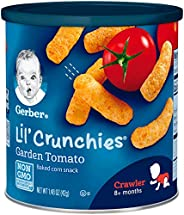 Gerber嘉宝Graduates Lil'松脆巧克 番茄口味 1.48 盎司罐(41.96克) (