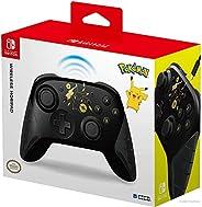 Hori Nintendo Switch 无线HORIPAD(口袋妖怪:黑色和金色皮卡丘)由 - Nintendo 和 Pokemon 公司国际官方* - Nintendo Switch