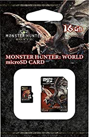 MONSTER HUNTER microSDHC卡+SD适配器套装-Variation_P モンスターハンター・ワールド