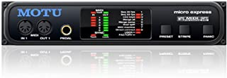 MOTU micro express 4进6户外 MIDI接口/时间代码同步遮阳