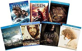 终极圣诞 7 部电影基督教圣经《圣经》蓝宝石系列:诺亚/里昂/圣经:初学/睡袍/上帝之圣/杀死耶稣/The Young Messiah [Bluray]