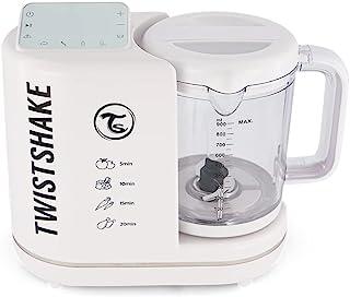 Twistshake 78524 6合1 婴儿食品处理器 白色 婴儿辅食机 塑料 白色