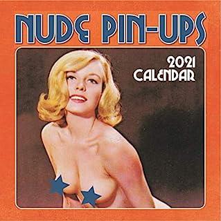 2021 挂历 - 海报女孩,12 x 12 英寸月度视图,16 个月,包括 180 张提醒贴纸