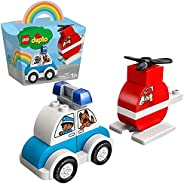 LEGO 乐高 Duplo 得宝系列 *次得宝系列 消防直升机和巡逻车 10957