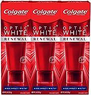 Colgate 光学白色再生高冲击白牙膏 3 Packs- Newer Version