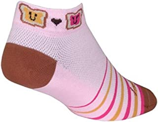 SockGuy 女式 1 英寸 PBJ 骑行/跑步袜