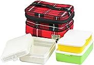 CAPTAIN STAG 野餐 郊游 休闲 加绒 家庭午餐盒
