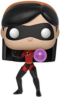 POP! Disney:Incredibles 2- Violet w/ Chase 乙烯树脂人形玩具 3 years to 99 years Standard 多种颜色