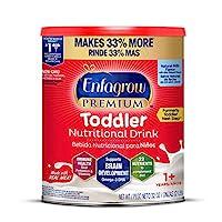 Mead Johnson 美贊臣 Enfagrow Next Step優質幼兒營養奶粉,1歲以上,天然牛奶風味,Omega 3 DHA,益生元,(包裝可能有所不同),來源于Enfamil制造商,32盎司/約907.18克 罐裝(6罐)