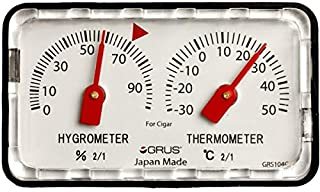 GRUS 日本制造 精密温湿度计 台式 叶卷用 GRS104C