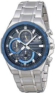 Casio 卡西欧 男式 Edifice 石英手表不锈钢表带,银色,28.5(型号: EQS-920DB-2AVCR)