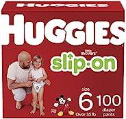 HUGGIES 好奇 Little Movers 便捷式纸尿裤(6号)