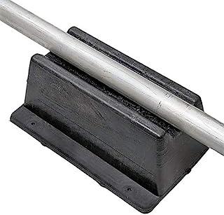 8 件装屋顶管支架(美国制造) | 11.75 英寸 x 8 英寸(约 29.8 厘米 x 20.3 厘米) | 100 磅(约 453.6 千克) | 抗紫外线