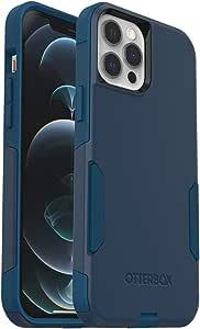 OtterBox Commuter 系列手机壳,适用于 iPhone 12 Pro Max - 定制方式(激光蓝/风暴海洋蓝)
