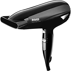 POVOS奔腾PH9050I电吹风机(2000W大功率 恒温负离子 三档吹风 独立冷风设计)