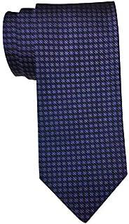 HUGO BOSS 蓝色紫色几何领带