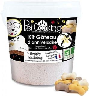 PetCooking 生日蛋糕套装 香草骨头 适用于狗狗 500 克