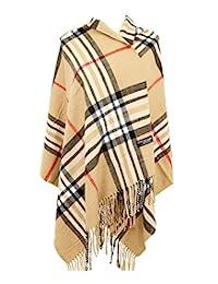 2 層 * 羊絨圍巾 71.12 X 203.2 厘米超大毛毯系列蘇格蘭制造羊毛純格子