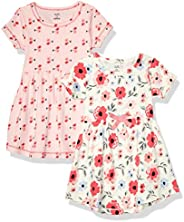 自然 touched 天然嬰兒2件有機棉連衣裙
