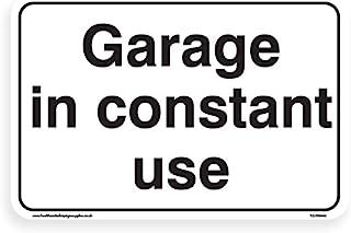 经常使用的车库 - 停车场标志 [1.5 毫米刚性塑料, 400 毫米 x 300 毫米 - A3]