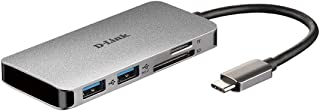 D-Link DUB-1312 Super-Speed USB Ethernet 适配器DUB-M610 6-in-1 USB-C