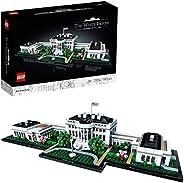 LEGO 乐高 建筑系列 白宫 21054 模型玩具
