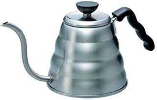 HARIO 好璃奥 V60 不锈钢细口咖啡手冲壶 实际容量800ml 支持IH/燃气 VKB-120HSV