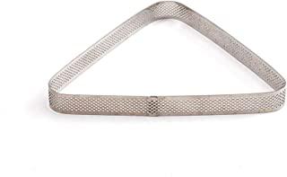DECORA 0064076 微型灯罩三角形 16 X 14 X 3.5 高 cm 不锈钢