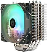 """Thermalright 120毫米 搭载ARGB风扇""""TL-C12S"""" 薄型侧流 CPU散热器 Venomous Plus"""