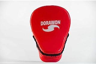 Dorawon Hong Kong 中性成人曲线短裤,红色