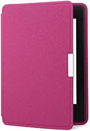 亚马逊Kindle Paperwhite真皮保护套(适用于第5代、第6代和第7代),紫红色