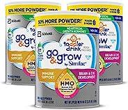 Similac 雅培 Go & Grow Non-GMO 幼儿配方奶粉 3段 1-3岁 3罐装 1.02kg*3(含铁, 添加2'-