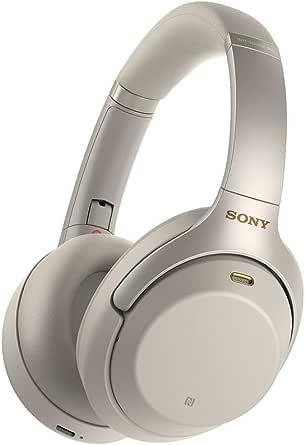 Sony 索尼 WH1000XM3 无线蓝牙降噪耳机,带有耳麦,可用于通话和Alexa语音控制-业界领先的主动降噪