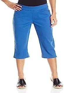 Chic Classic 系列女士平腰卡普里裤