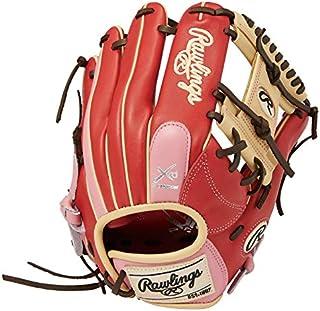 Rawlings 棒球用 手套 垒球用 女性* HOH® DP COLORS [内野手用] 尺寸11.5 英寸 GS1HDR34