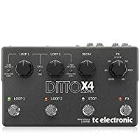 TC 电子 DITTO 循环器960805005 Ditto X4 Pedal
