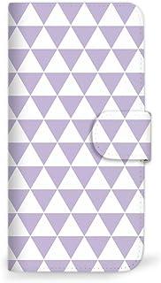 Mitas AQUOS sense2 SH-01L 手机壳 手账型 北欧 4 浅紫色 (413) SC-0217-LPR/SH-01L