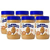Peanut Butter & Co. 順滑花生醬 ,不含麩質,素食產品,每罐16盎司 約454克(6罐裝)