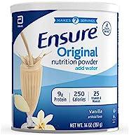 Abbott 雅培 Ensure 营养粉,一个月量,香草味(6件),蓝色