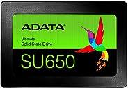 ADATA SSD 1.92TB SU650 SATA 6Gbps 3D NAND ASU650SS-1T92T-REC